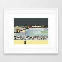 budapest Framed Art Prints featuring Budapest by La Lunga