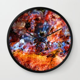 Color Ooze Wall Clock