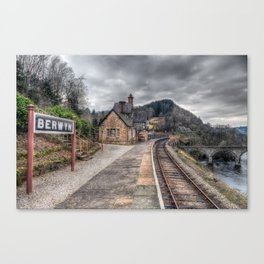 Berwyn Railway Station Canvas Print