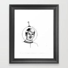who have I become? Framed Art Print