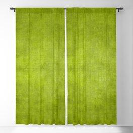 """""""Summer Fresh Green Garden Burlap Texture"""" Blackout Curtain"""