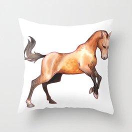 buckskin Throw Pillow