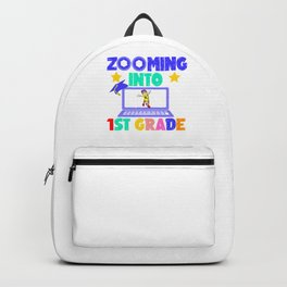 Zooming Into 1st Grade Virtual Back to School Gift Backpack