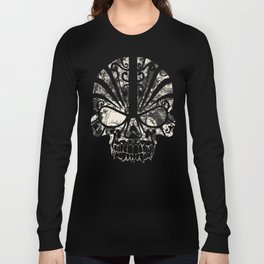 SKULLS HALLOWEEN Long Sleeve T-shirt