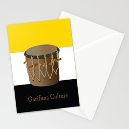 Garifuna Culture - Flag and Drum Stationery Cards