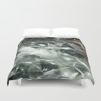 transparent Duvet Covers featuring Transparent by Shannice Wollcock