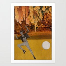 Desert Drop Art Print