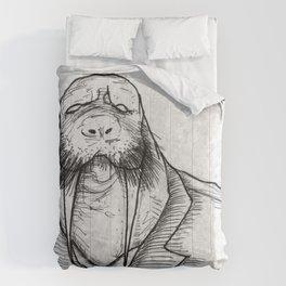 Mr Walrus u cant dance.. Comforters