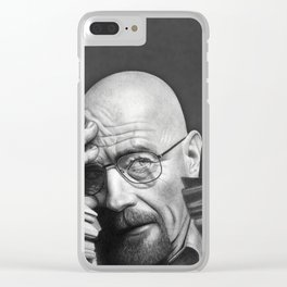 Breaking Bad Walter White Clear iPhone Case
