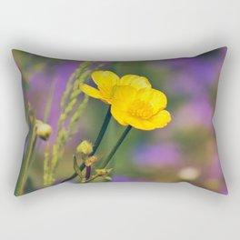 Buttercup Blues Rectangular Pillow