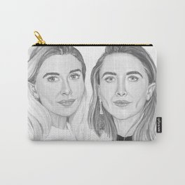 Olsen Twins B&W Carry-All Pouch