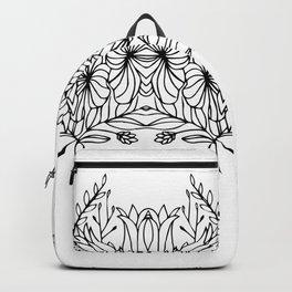 Botanical Symmetry 4 Backpack