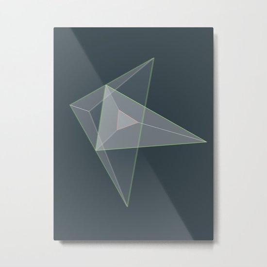 plane. Metal Print