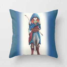 Assassin Merida Throw Pillow