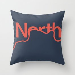 North London Throw Pillow