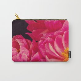 Hot Pink Peonies - Flower Photography Carry-All Pouch