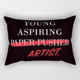 Young Aspiring Artist Rectangular Pillow