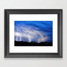 2015 Arizona Monsoon_3 Framed Art Print