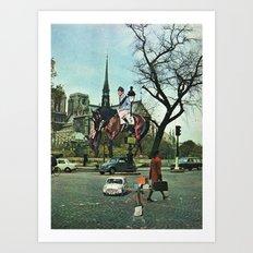 Paris, 1969 Art Print