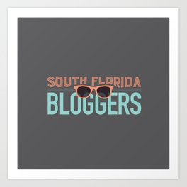 South Florida Bloggers Logo Art Print