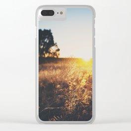 an Arizona sunset ... Clear iPhone Case