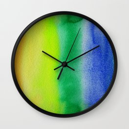 Abstract No. 344 Wall Clock