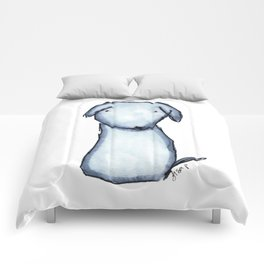 Puppy Blue Comforters