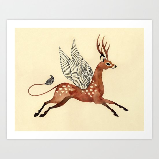 Fleeting Art Print