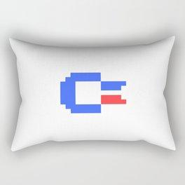 Pixel C64 Rectangular Pillow