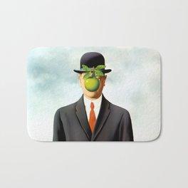 Rene Magritte The Son of Man, 1964 Artwork, Tshirts, Posters, Prints, Bags, Men, Women, Youth Bath Mat