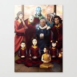Aang and Katara's Legacy Canvas Print
