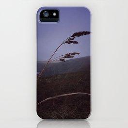 Dark evening sky iPhone Case