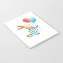 Bunny & Balloons Notebook