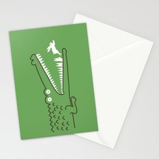 Mr. Croc's Nightmare Stationery Cards