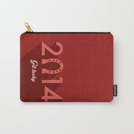 2014 Time to Get Lucky Carry-All Pouch