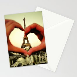 Je t'adore Stationery Cards