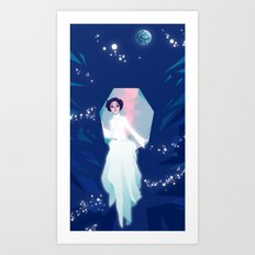Forever one with the Force Art Print