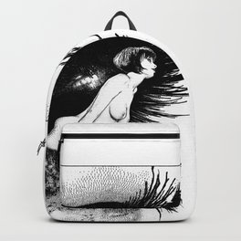 asc 602 - La spectatrice (Valentina at the gallery) Backpack