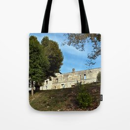 Abbey in South West of France Tote Bag