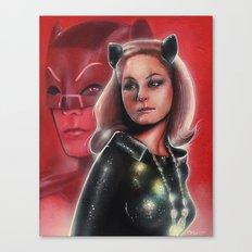 Julie Newmar Catwoman Canvas Print
