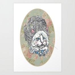 Meowrie Antoinette Art Print
