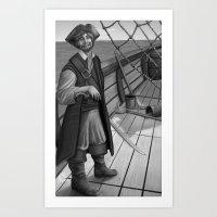 Jolly Roger Art Print