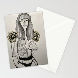 Mourning Lingerie Stationery Cards