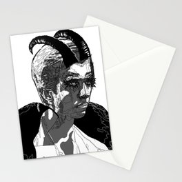 Luci: Black and White Stationery Cards
