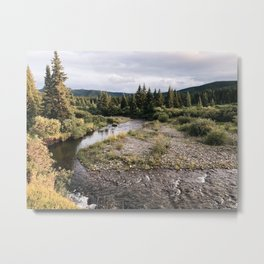 Elk Creek Metal Print