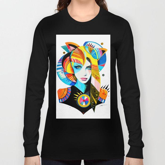 -Native Girl- Long Sleeve T-shirt
