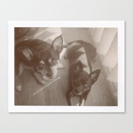 Charlie & Lucie Canvas Print
