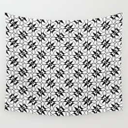 Floral Daggers Wall Tapestry