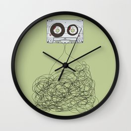 Analog Unravelled Wall Clock