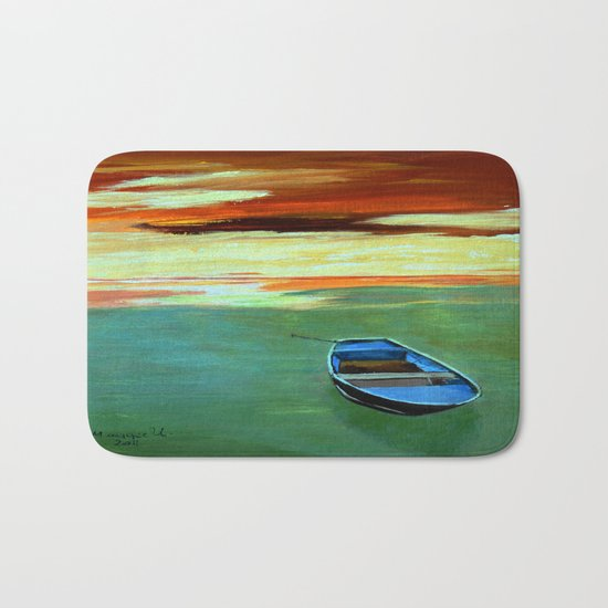 End of the day  Bath Mat